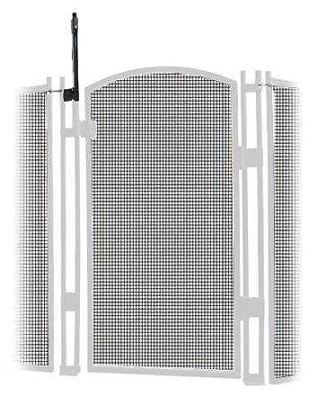 Amazoncom Sentry Safety Pool Fence Visiguard 5 Tall Self Closing