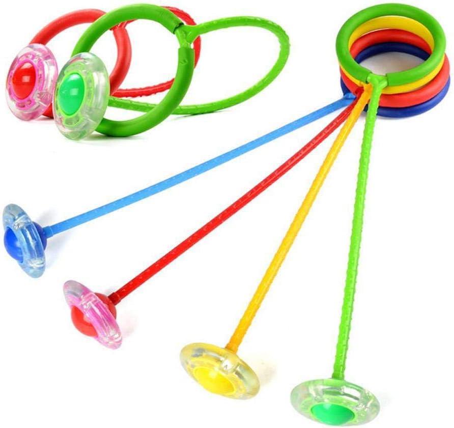 Sprungseil zuf/ällige Farbauswahl Sprungb/älle f/ür Kinder gaeruite Kinder Blinkender Springring