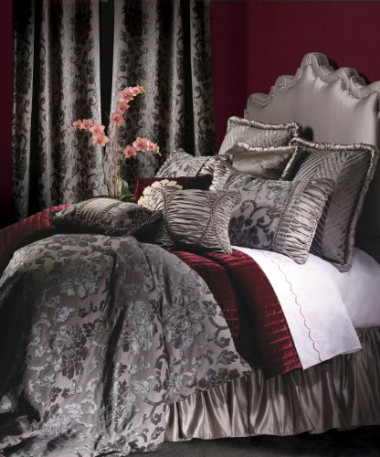 Jennifer Taylor 10 Pcs Duvet Set, Oversize King, LA ROSA Collection