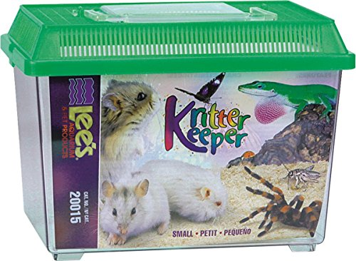 Lee's Kritter Keeper, Rectangle with Lid - Small, Assorted Colors