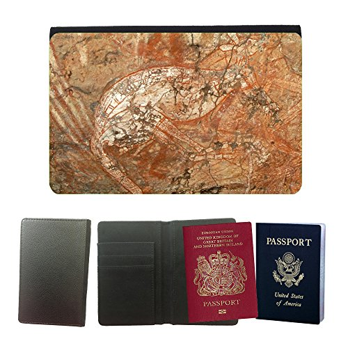 Hot Style PU Leather Travel Passport Wallet Case Cover // M00129983 Kakadu National Park Australia // Universal passport leather cover