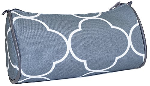 ever-moda-grey-quatrefoil-moroccan-cosmetic-makeup-bag