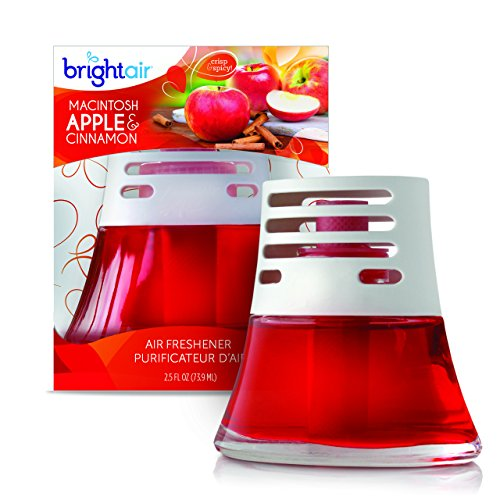 Bright Air Scented Oil Air Freshener And Diffuser, Macintosh Apples And  Cinnamon Scent, 2.5 Ounces