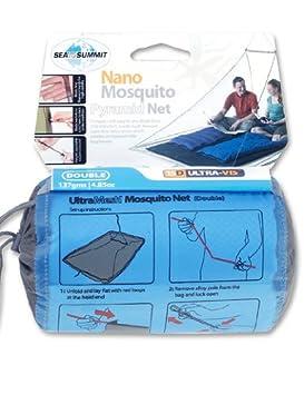Double negro 2017 Sea to Summit Nano Mosquito Pyramid Accesorios para tienda de campa/ña