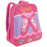 Personalized Stephen Joseph Go Go Ballet Backpack with Embroidered Name