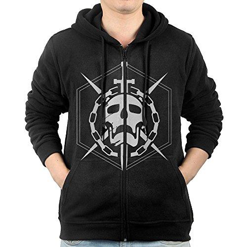 Destiny The Taken King Skull Logo Men's Zip Hoodie Sweatshirt