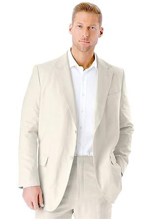 Amazon.com: KS Signature Men s Big & Tall mezcla de lino ...