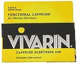 Vivarin Brand Alertness Aid, 40 Tablets (Pack of 24)