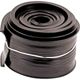 Prime-Line Products GD 12293 Metal Door Bottom Seal, 9-Feet, Black