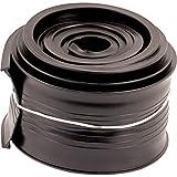 Prime-Line Products GD 12293 Metal Door Bottom Seal, 9-Feet, Black