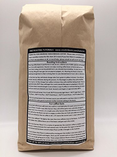 25 LBS – KENYA AA (no burlap bag) FRESH NEW-CROP - Specialty-Grade Green Unroasted Coffee Beans – AFRICA – Varietal Bourbon SL34 – Shade-Grown – Washed - Sun-Dried on Elevated African Drying Tables by Smokin Beans
