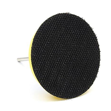 ChenXi Shop Lot de 100/disques abrasifs de 7,5/cm Id/éal pour le polissage Grain abrasif 40-5000