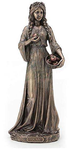 9 Inch Idunn Statue Norse Goddess of Apple Youth Mythology