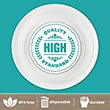 Plasticpro Round Plastic Plates