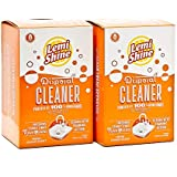 Lemi Shine Natural Garbage Disposal Cleaner Powered by Citric Extracts - 8 Count 2 Pk Bundle - 16 uses total