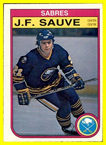 1982-83 O-Pee-Chee #33 J.F. Sauve RC BUFFALO SABRES ()