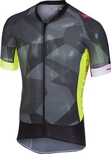 Castelli Climber's 2.0 Full-Zip Jersey - Men's Anthracite, (Castelli Bike Wear)