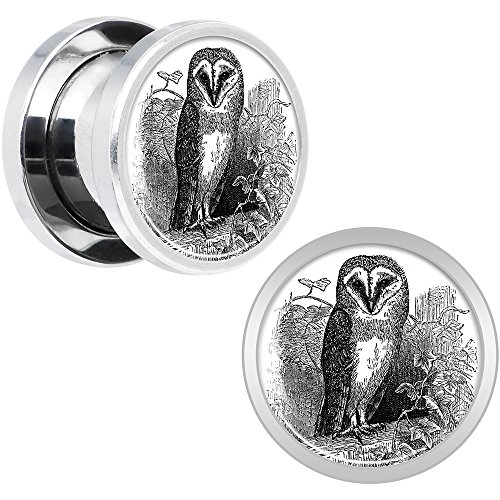 00 gauges plugs owl - 6