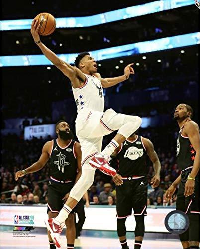 """Giannis Antetokounmpo Milwaukee Bucks 2019 NBA All Star Game Action Photo (Size: 16"""" x 20"""")"""
