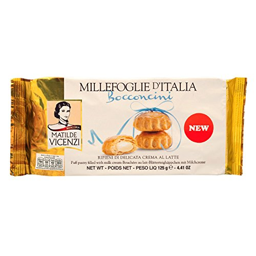 Making Puff Pastry (Matilde Vicenzi Bocconcini, Puff Pastry Filled with Milk Cream, 125 g (Pack of 2 units) / Beststore by KK)