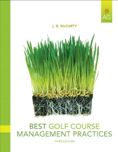 Best Golf Course Management Practices (3rd Edition)