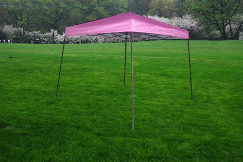Exacme 10×10 Ez POP up Uv Protection Canopy Party Light Tent Gazebo-pink 6050, Outdoor Stuffs