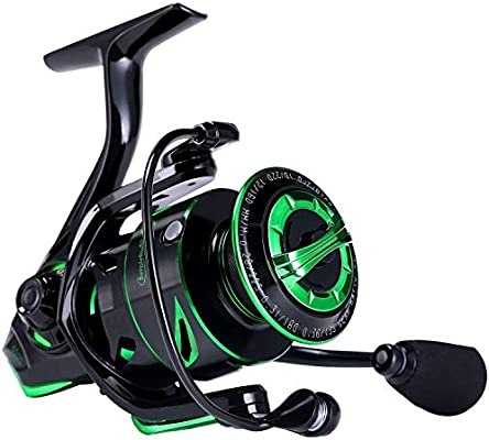 39.5 LB Carbon... One Bass Fishing reels Light Weight Saltwater Spinning Reel