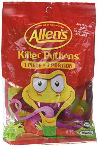 Allen's Killer Pythons 192g (Australian Candy)