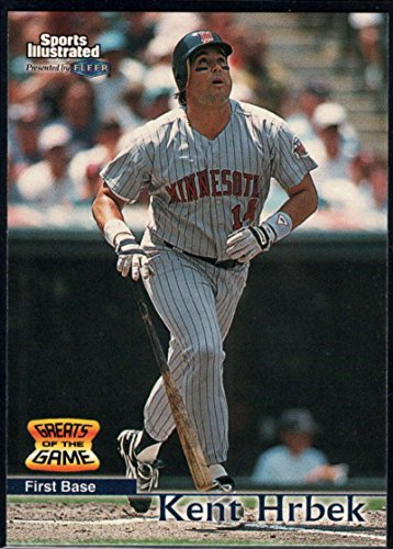 Baseball MLB 1999 Sports Illustrated Greats of the Game #57 Kent Hrbek Twins (Hrbek Sports Kent Illustrated)