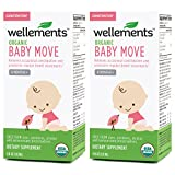 Wellements Baby Move for Constipation, 4 Fl Oz, 2 Count