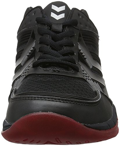 Erwachsene Z8 Hallenschuhe Schwarz Red Unisex Omnicourt Black Hummel w8q5aftn