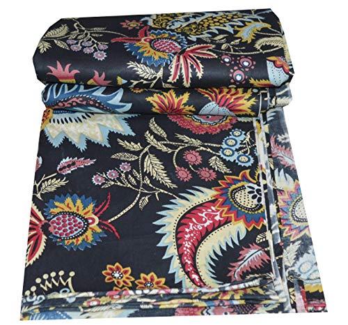 Home Tex Women's Cotton Printed Jaipuri Fabric Salwar Suit Material (Multicolour, 5-m)