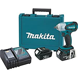 Makita BTW253 18-Volt LXT Lithium-Ion Cordless 3/8-Inch Impact Wrench Kit (Discontinued by Manufacturer)