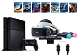 PlayStation VR Start Bundle10 Items:VR Start Bundle,PS4,7 VR Game Disc PSVR Until Dawn: Rush of Blood,PSVR EVE: Valkyrie,PSVR Battlezone,Batman: Arkham VR, PSVR DriveClub,PSVR Battlezone