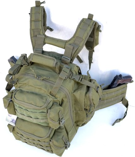 Explorer Tactical Bag, Olive Drab Green, 20 x 11.50 x - Sunglasses Explorer