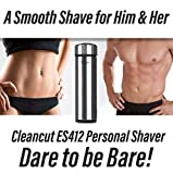 Cleancut Intimate Sensitive Area Shaver Designed for Men and Women - for the Best Results for Personal Shaving - A Bikini Trimmer for Women and Hair Removal Shaver for Men