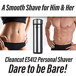 Cleancut - ES412 - Intimate and Sensitive Area Shaver - Designed for both Men and Women (B001IZZX1C) | Amazon price tracker / tracking, Amazon price history charts, Amazon price watches, Amazon price drop alerts