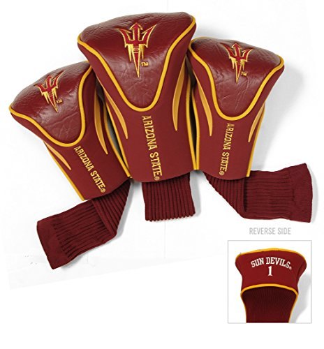 State University Headcover (Arizona State University Contour Sock Headcovers (3 pack))