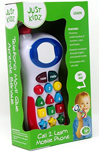 Bilingual Learning Mobile Phone by Just Kidz -