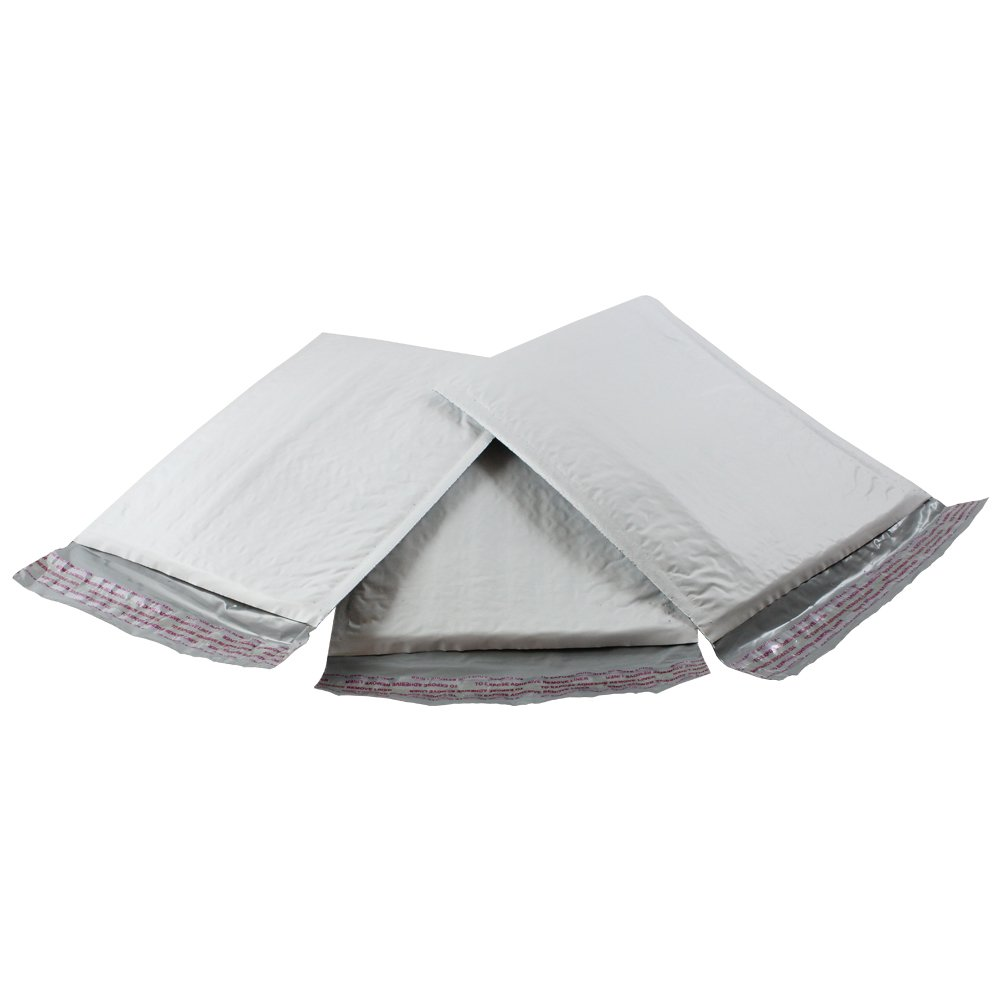 HGP #0, 6'' x 10'', 100 Pack, Poly Bubble Mailers Padded Envelopes Plastic Self Seal Shipping Bags