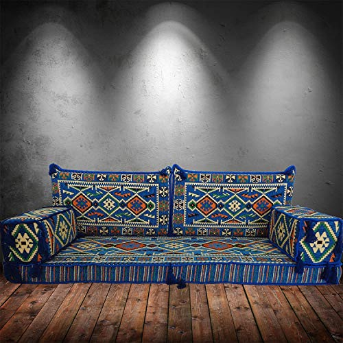 Spirit of 76 Arabic style majlis floor level seating sofa couch with