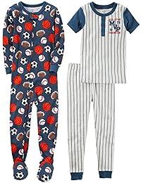 Boys' 3-Piece Cotton Pajama Set