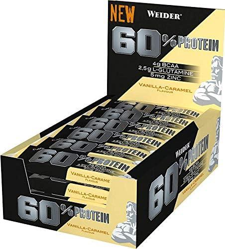 24 Riegel 60% Protein Riegel à 45 g - 27 Gramm Protein pro Riegel! (Cookies & Creme)