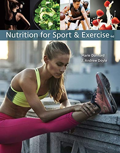 Nutrition for Sport and Exercise by Cengage Learning