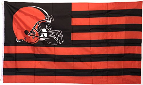 Flag, 3 x 5 Feet for Indoor or Outdoor Use, Dawg Pound Nation ()