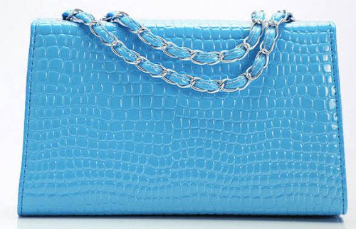 2014 New Korean Stone Grain Blue Bag