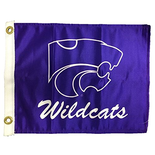 NCAA Kansas State Wildcats Boat/Golf Cart Flag