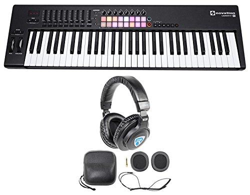 Novation LAUNCHKEY 61 MK2 MK11 61-Key USB/MIDI Controller Keyboard + Headphones