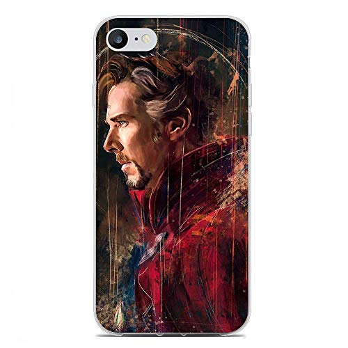 iPhone 7 Case,Transparent Soft TPU Protective Cover for Apple iPhone 7-Doctor Strange 4