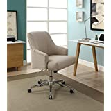 "Serta ""Leighton"" Stoneware Beige Home Office Chair"